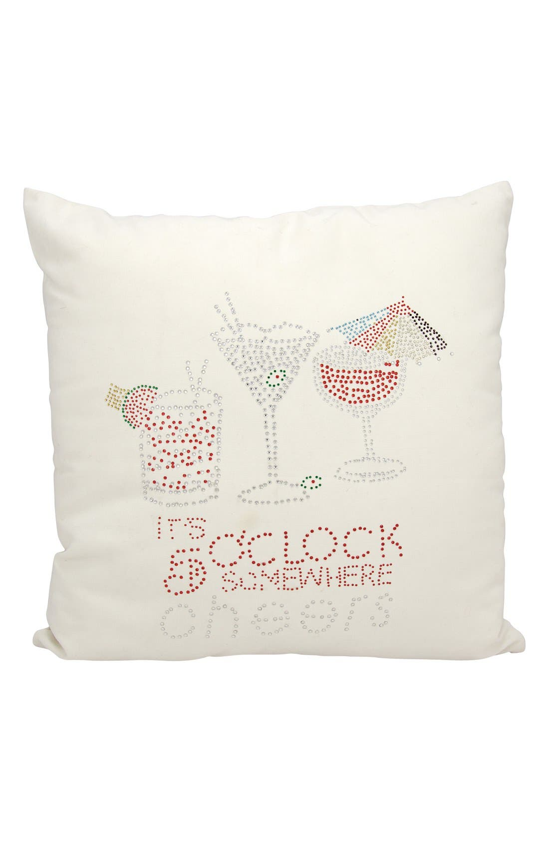 Mina Victory 'It's 5 O'Clock Somewhere' Accent Pillow
