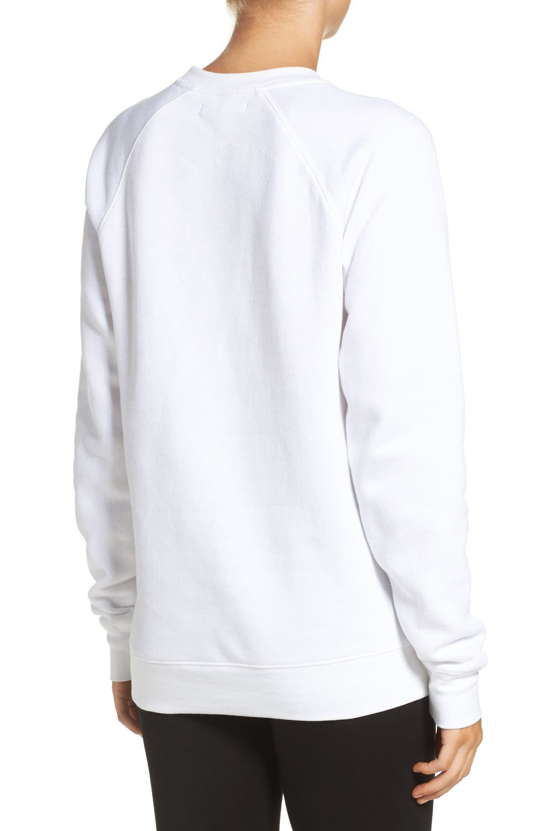 Alternate Image 2  - Brunette 'Roll Call' Crewneck Sweatshirt