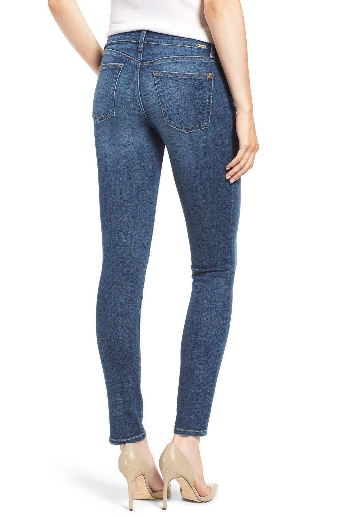 Alternate Image 2  - DL1961 'Florence' Skinny Jeans (Athena)