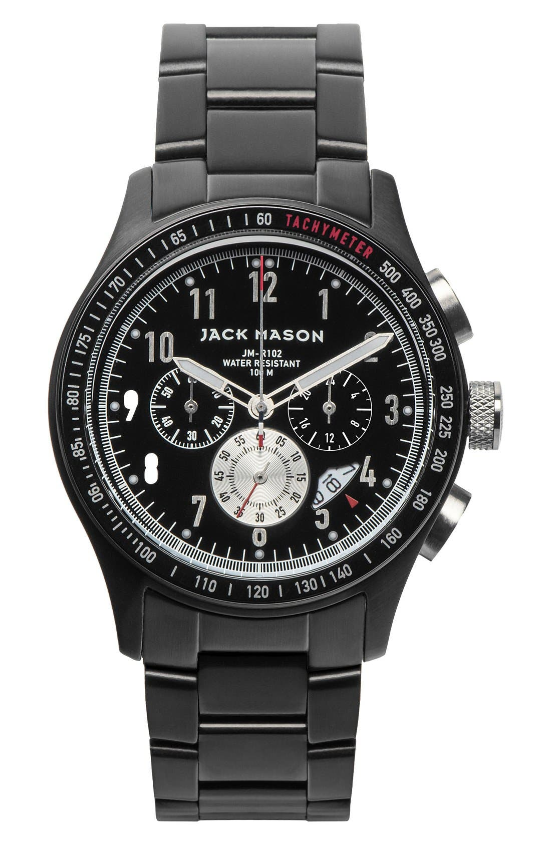 Jack Mason Chronograph Bracelet Watch, 42mm