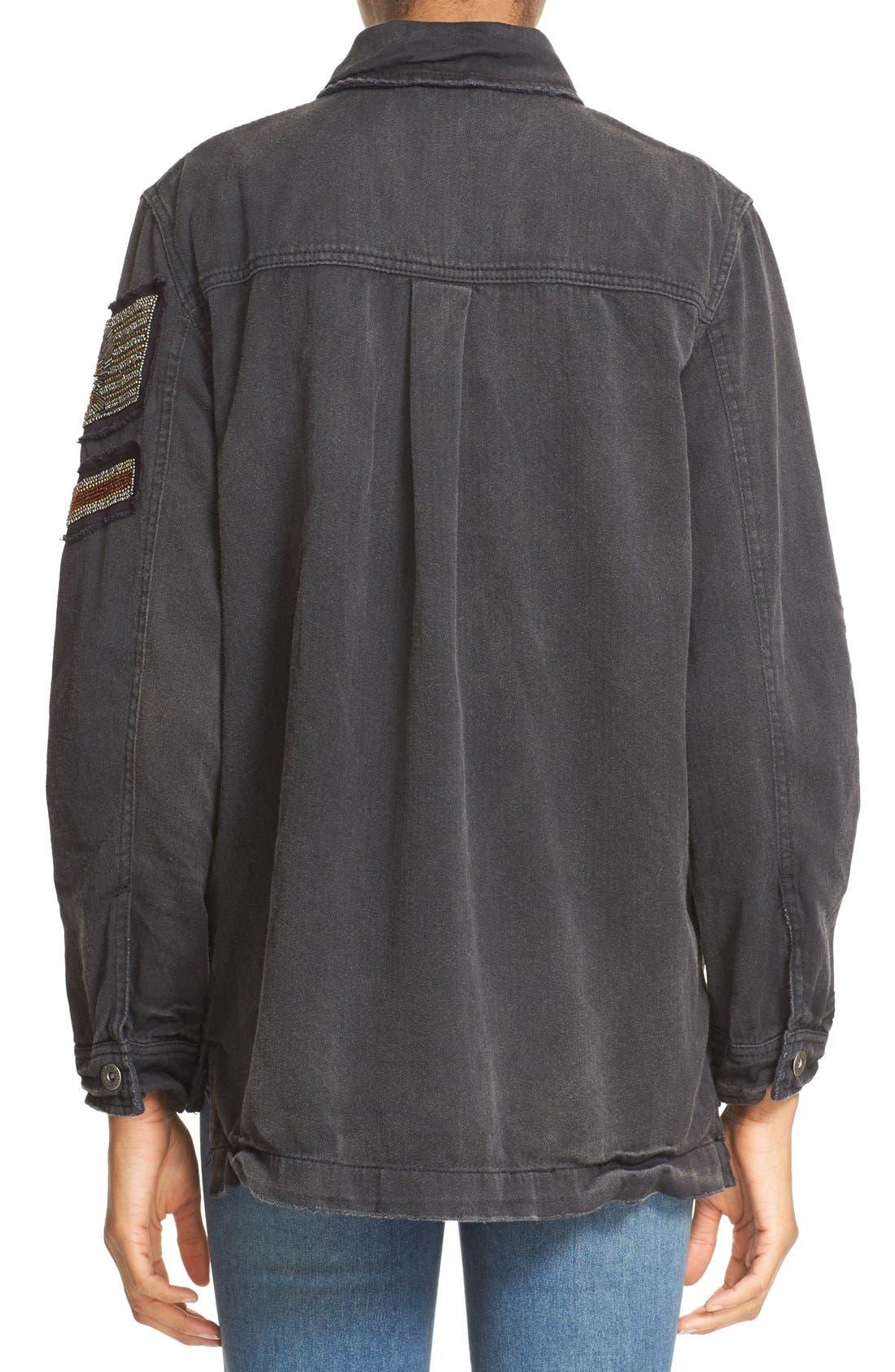 Alternate Image 3  - Free People Embellished Military Shirt Jacket