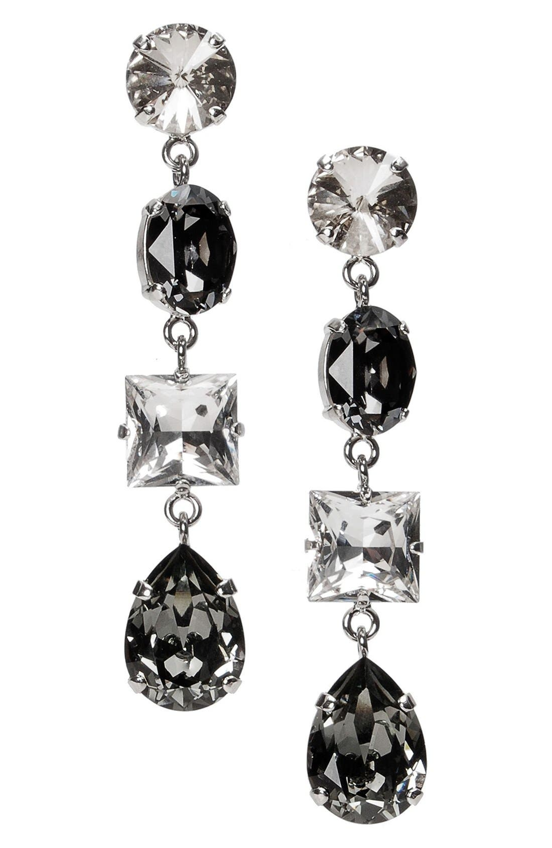 L. ERICKSON 'Viola' Drop Earrings