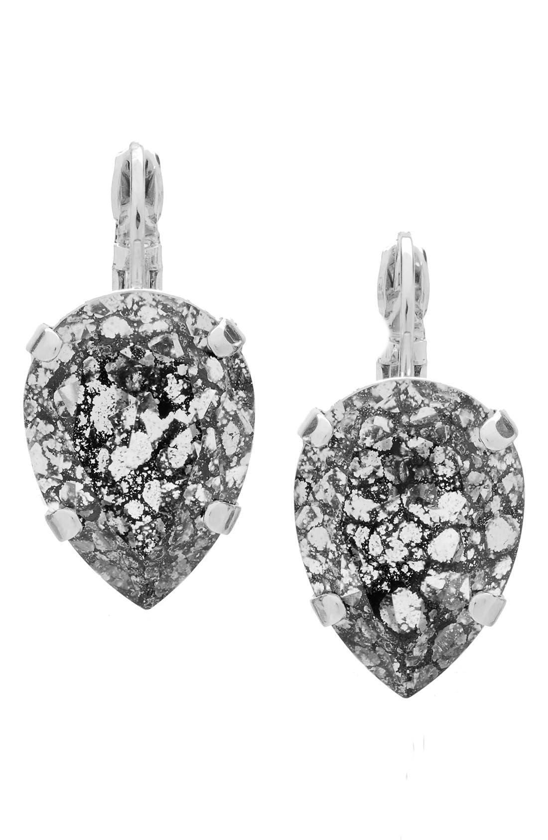 L. ERICKSON 'Scarlett' Teardrop Earrings