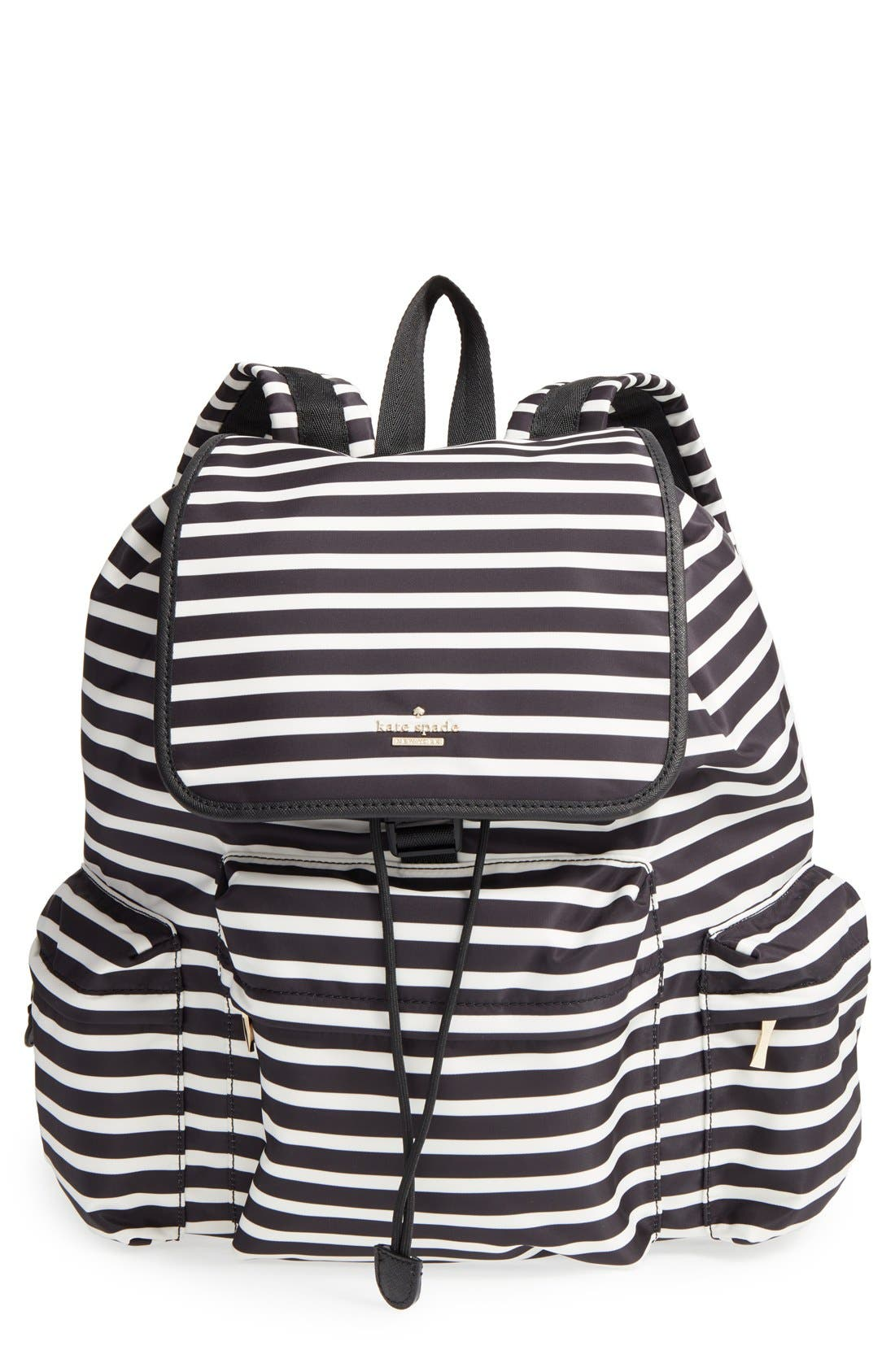Main Image - kate spade new york 'classic - clay' nylon backpack