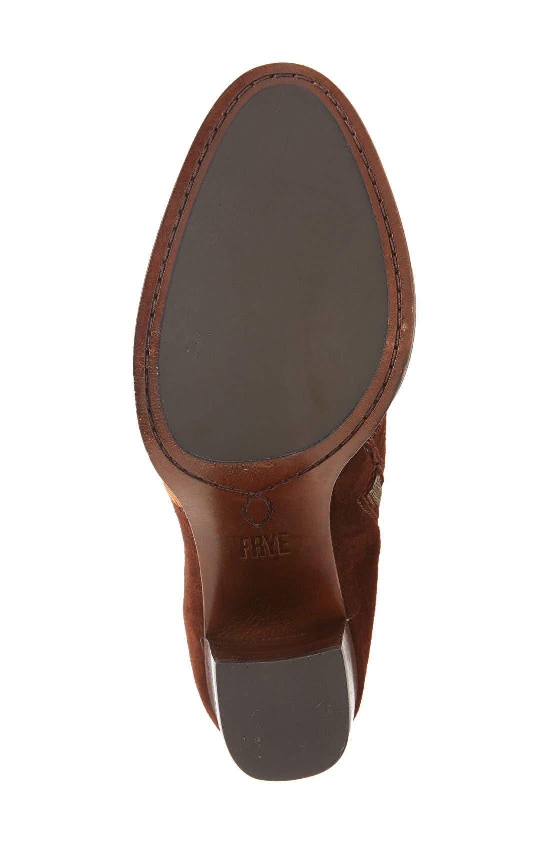 Alternate Image 4  - Frye 'Claude' Knee High Patchwork Boot (Women)