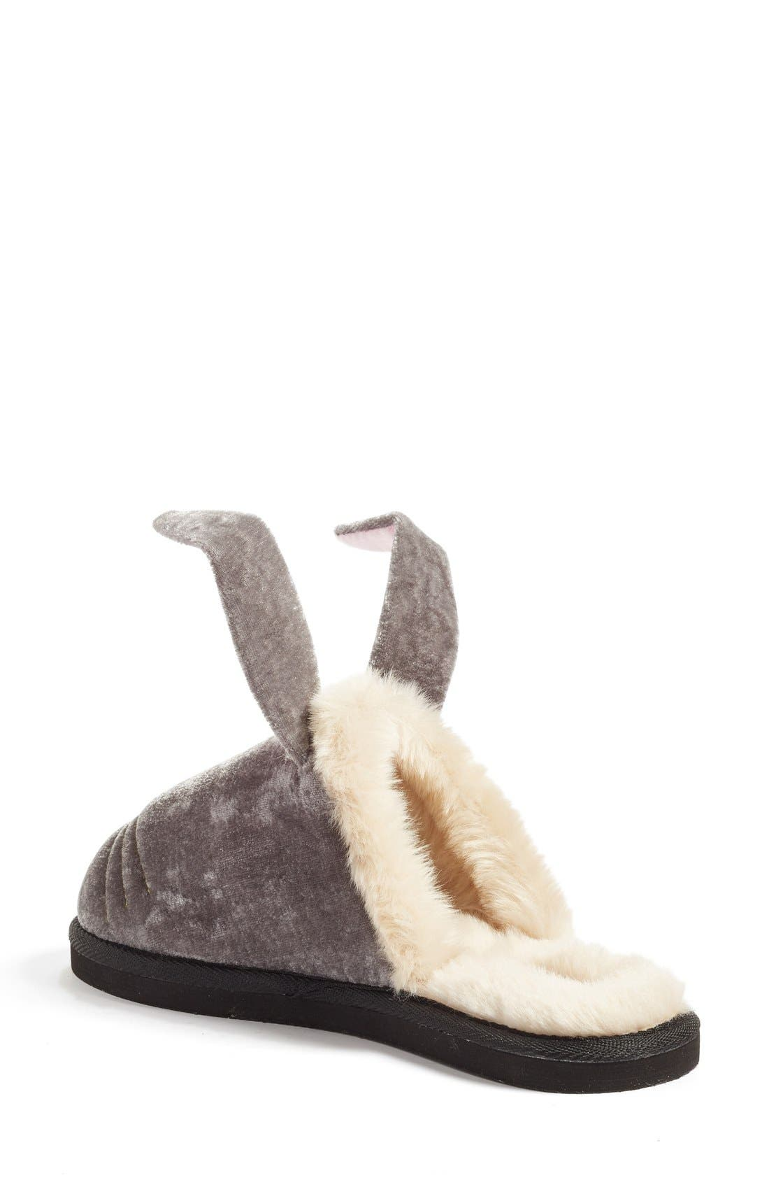 Alternate Image 2  - kate spade new york 'bonnie - bunny' velvet slipper (Women)