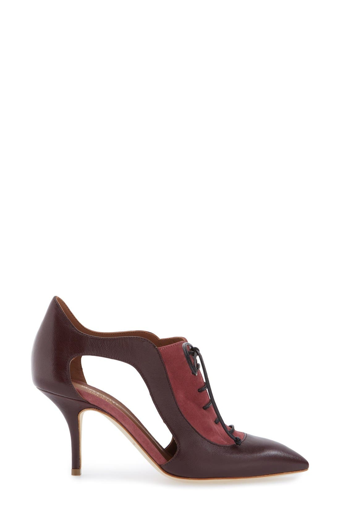 Alternate Image 2  - Malone Souliers 'Lorraine' Lace-Up Pump (Women)