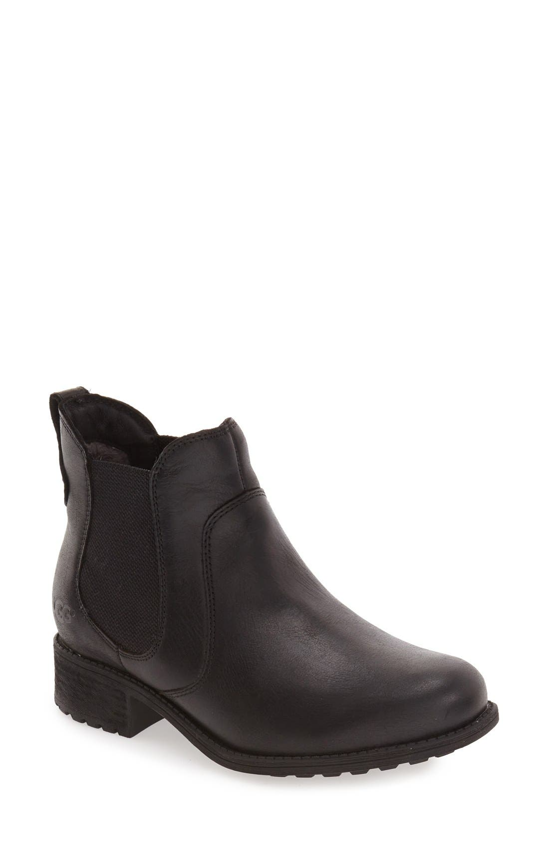 Alternate Image 1 Selected - UGG® Bonham Chelsea Boot (Women)