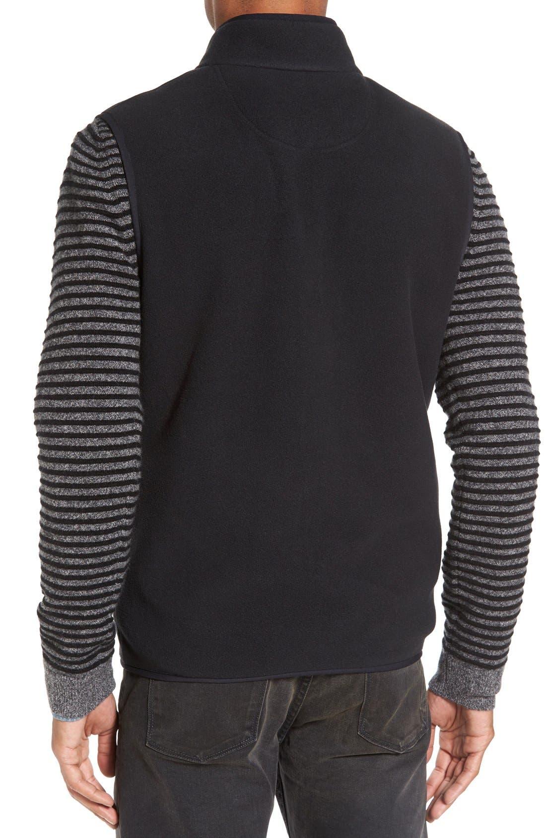 Alternate Image 2  - Nordstrom Men's Shop Polar Fleece Vest (Regular & Tall)