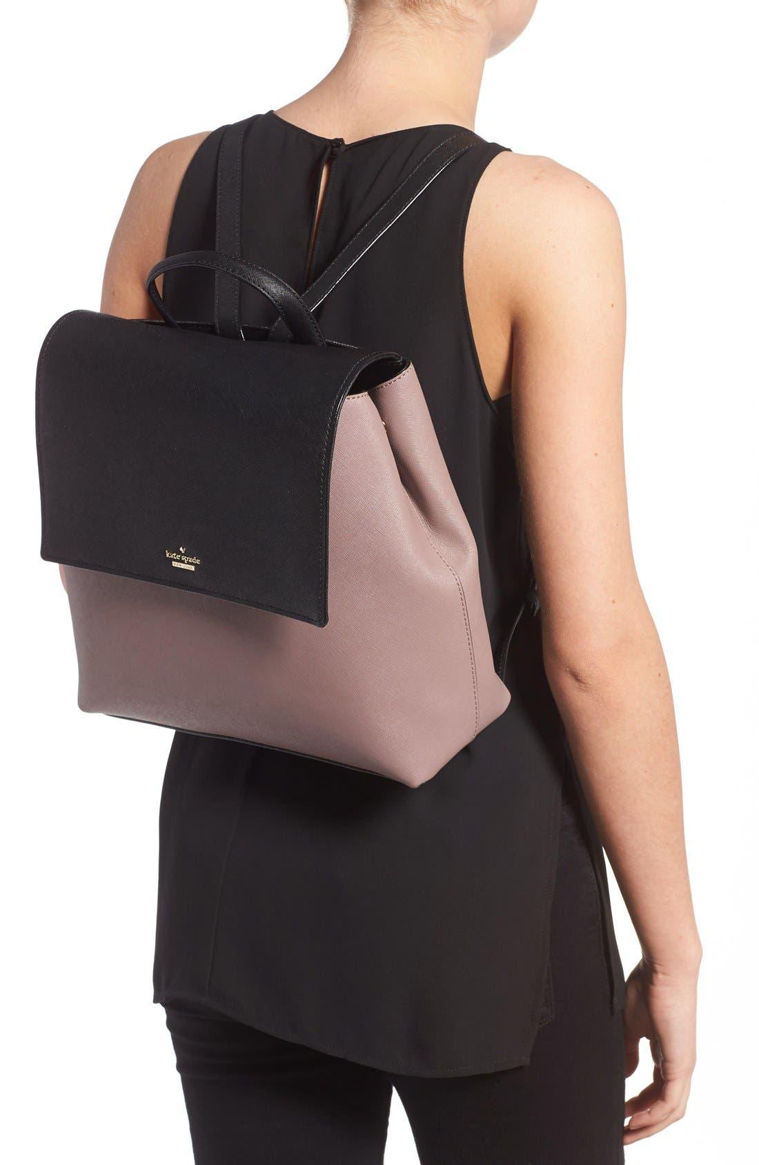 Alternate Image 2  - kate spade new york 'cameron street - neema' leather backpack
