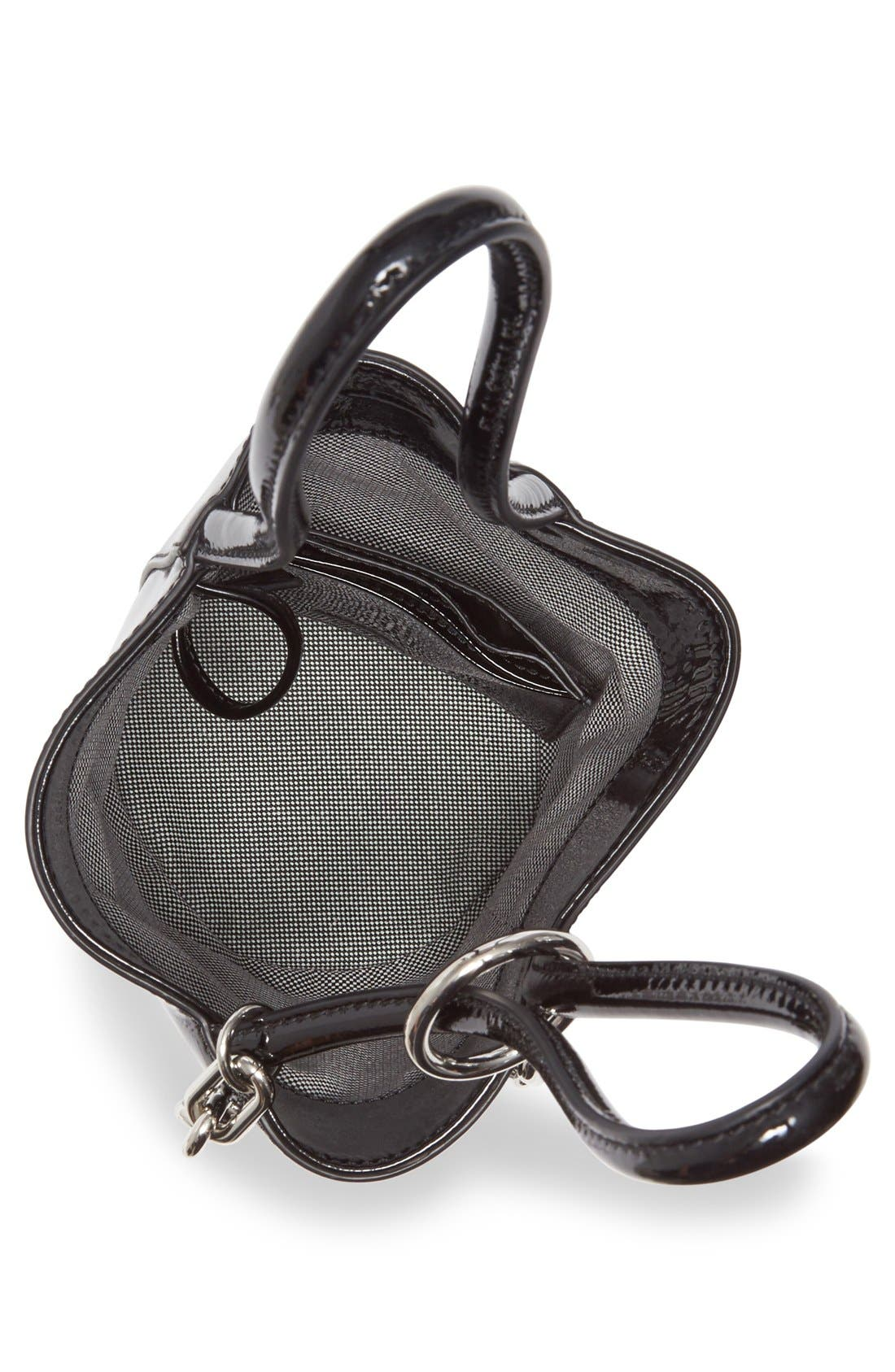 Alternate Image 4  - Alexander Wang Mini Roxy Patent Leather Bucket Bag