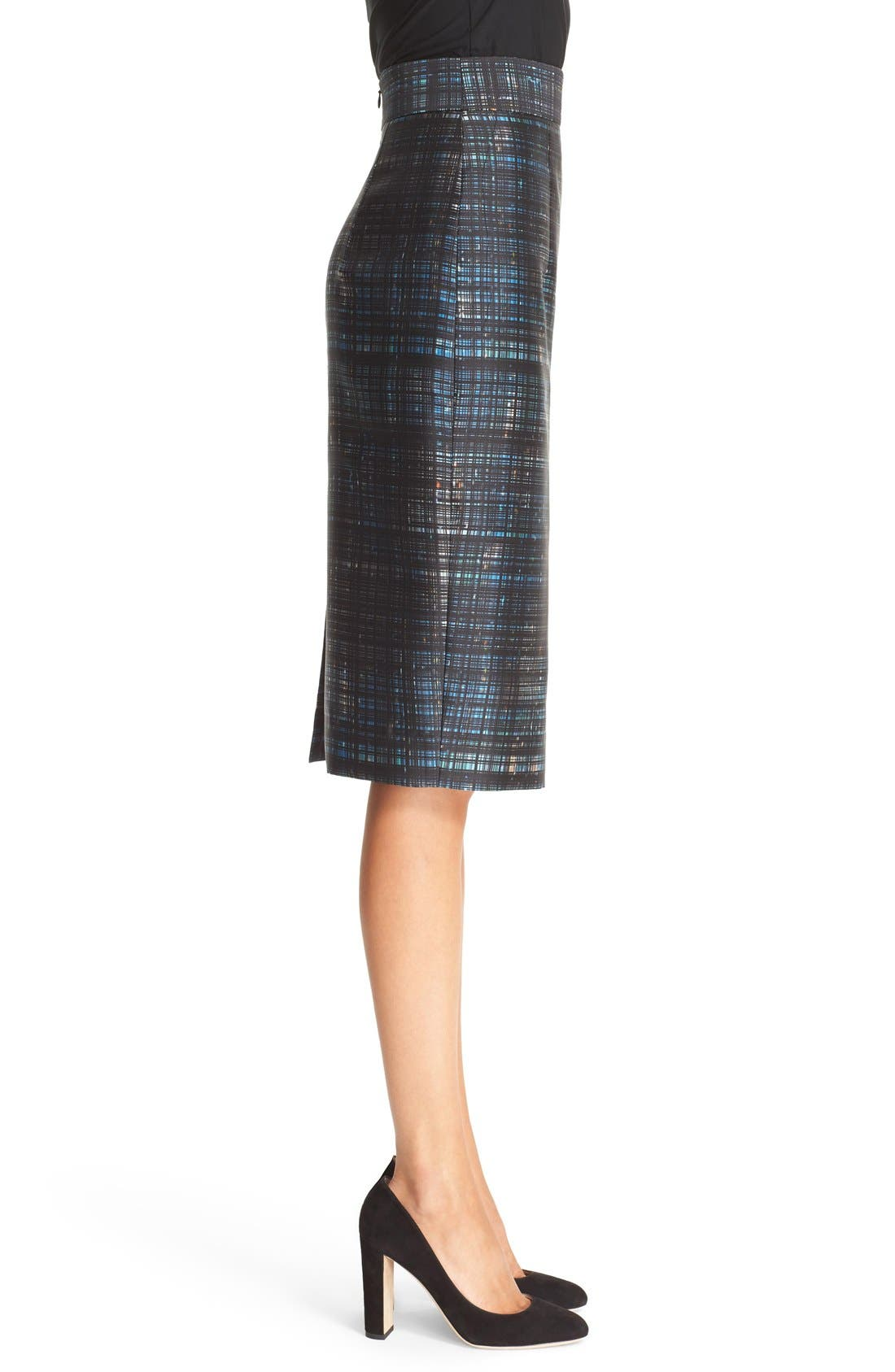 Alternate Image 3  - Milly Confetti Check Pencil Skirt