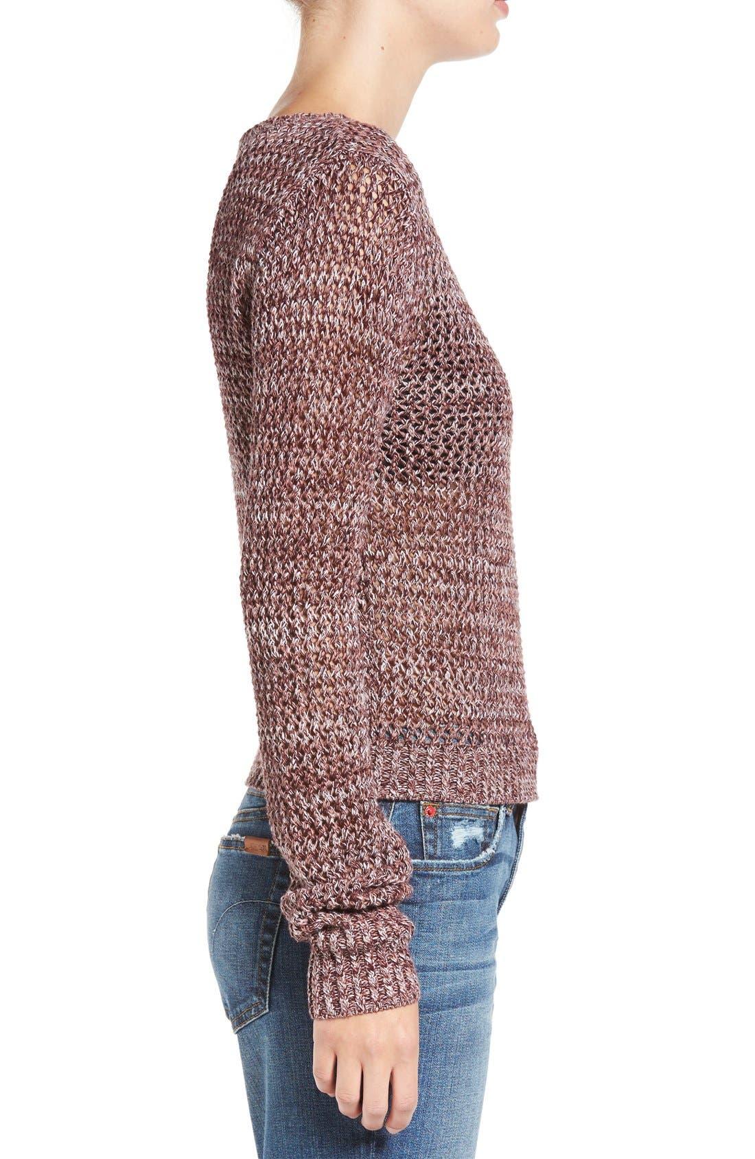 Alternate Image 3  - Joe's 'Reed' Crochet Cotton Sweater