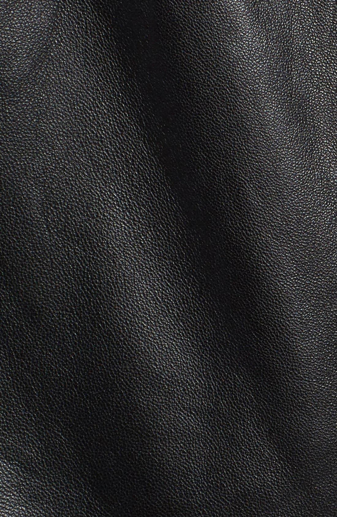 Alternate Image 6  - Olivia Palermo + Chelsea28 Leather Overalls
