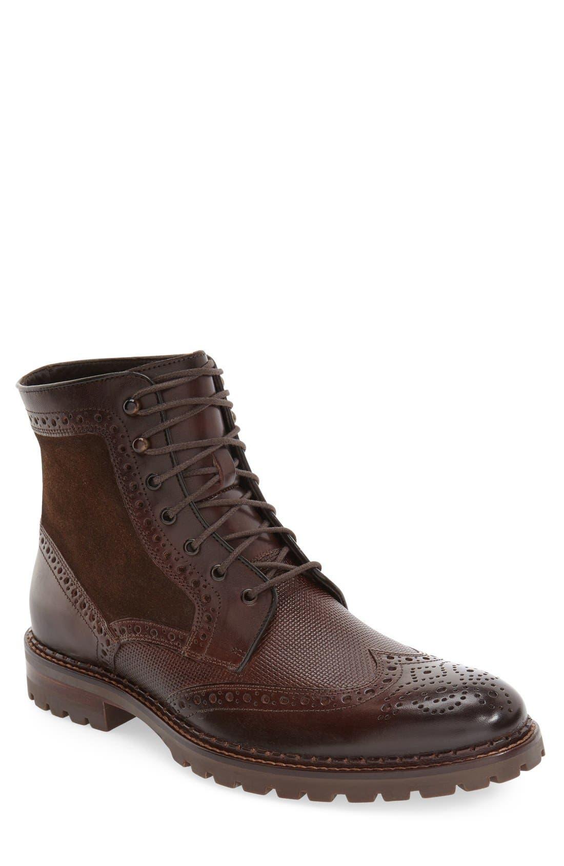 J&M 1850 'Greer' Wingtip Boot (Men)