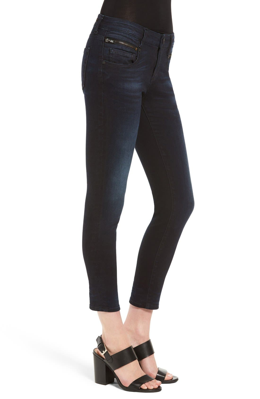 Alternate Image 3  - KUT from the Kloth Stretch Crop Skinny Jeans (Refresh)