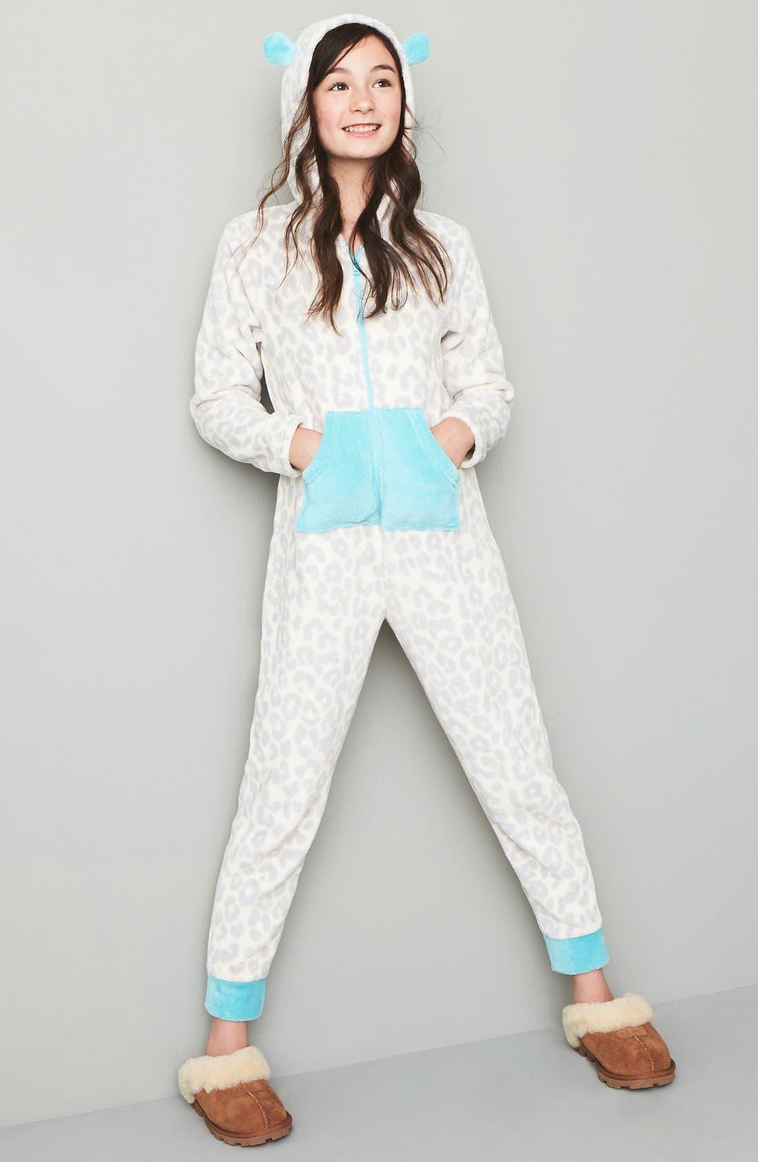 Alternate Image 2  - Tucker + Tate One-Piece Pajamas (Little Girls & Big Girls)