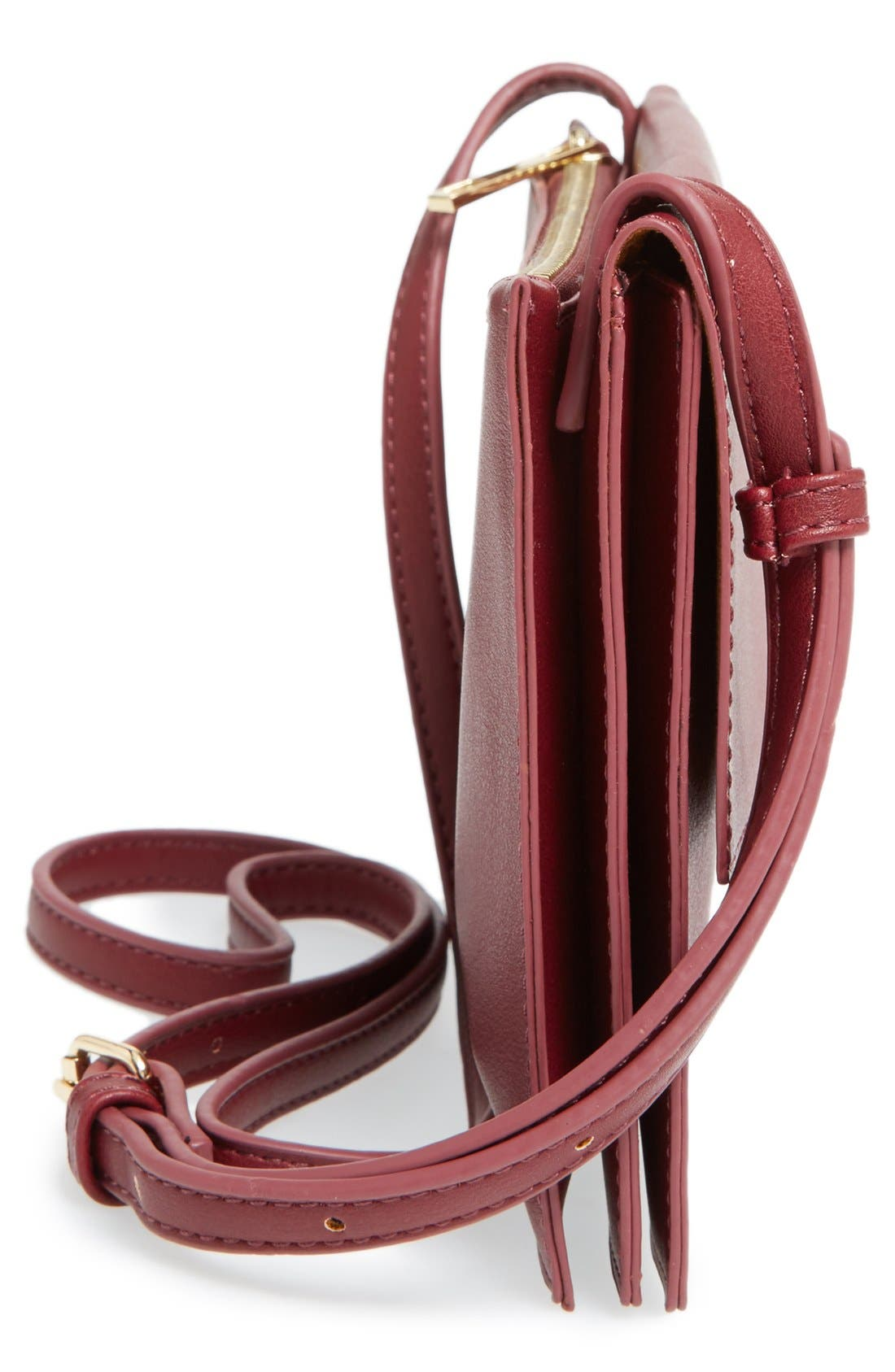 Alternate Image 5  - Sole Society 'Vanessa' Faux Leather Crossbody Bag