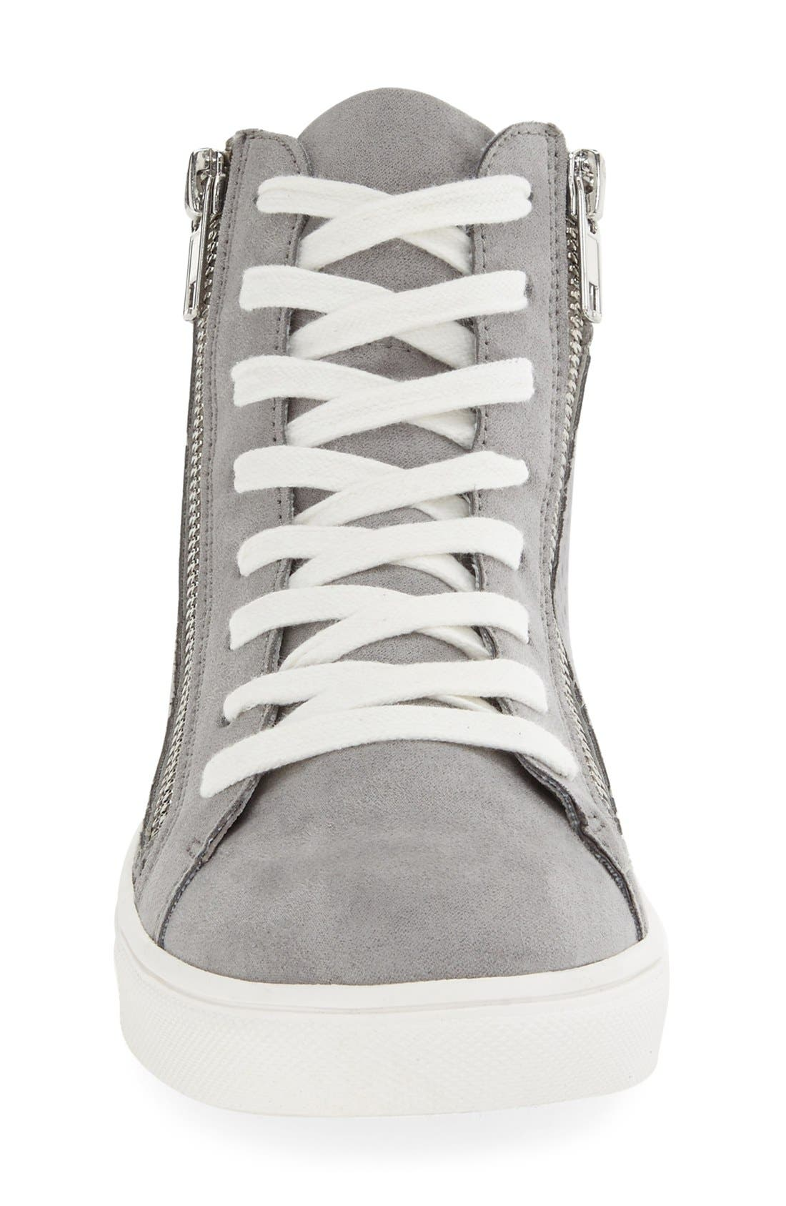 Alternate Image 3  - Steve Madden 'Elyka' Laser Cut High Top Sneaker (Women)