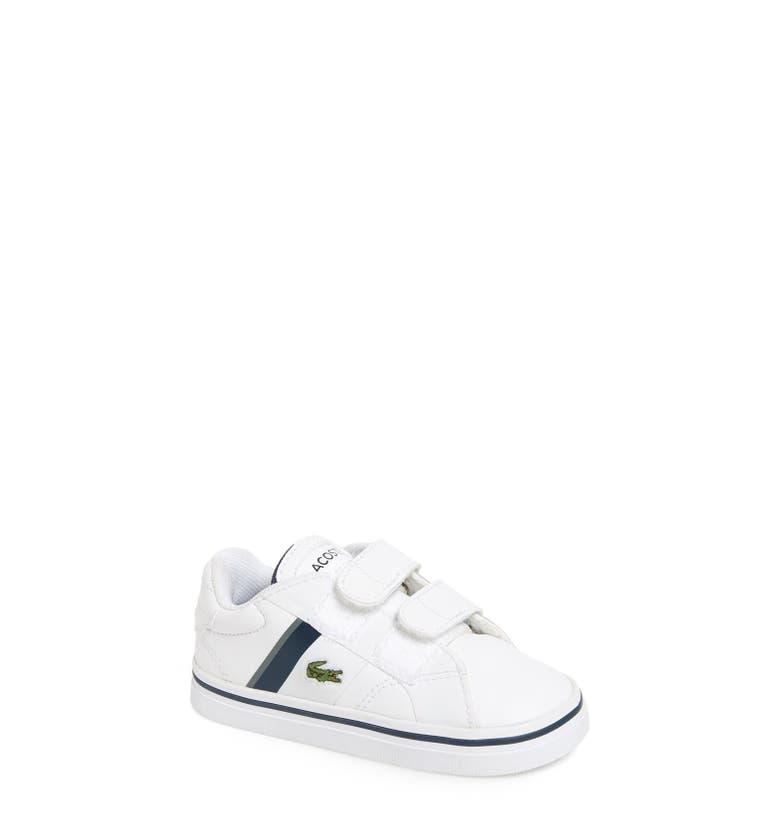 Lacoste 'Fairlead' Sneaker (Baby, Walker & Toddler ...