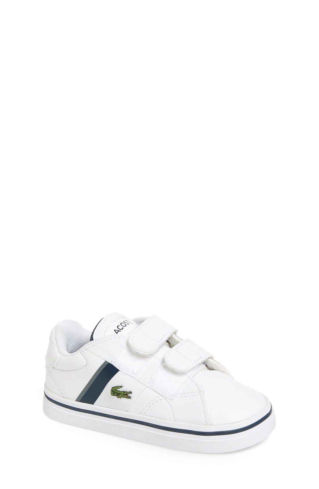 Lacoste 'Fairlead' Sneaker (Baby, Walker & Toddler)