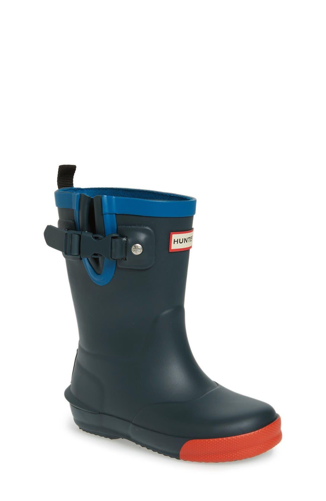 Alternate Image 1 Selected - Hunter 'Davison' Rain Boot (Toddler)