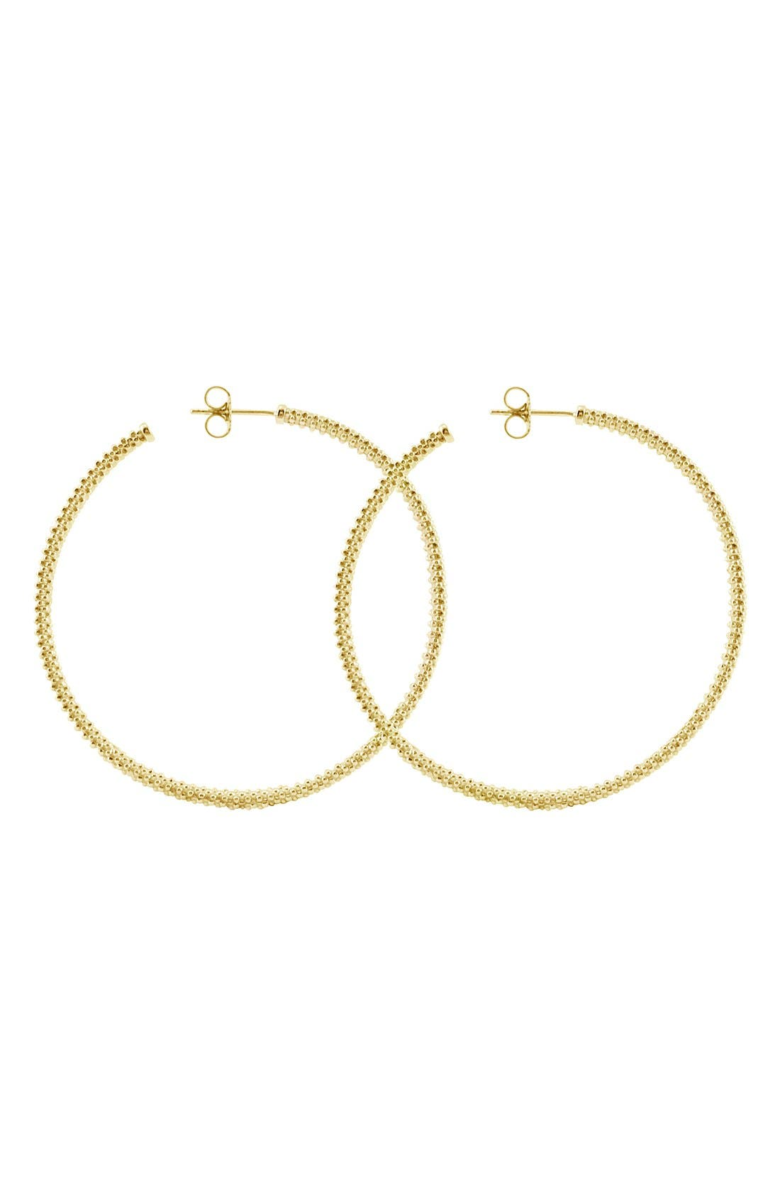 LAGOS 18K Large Hoop Earrings