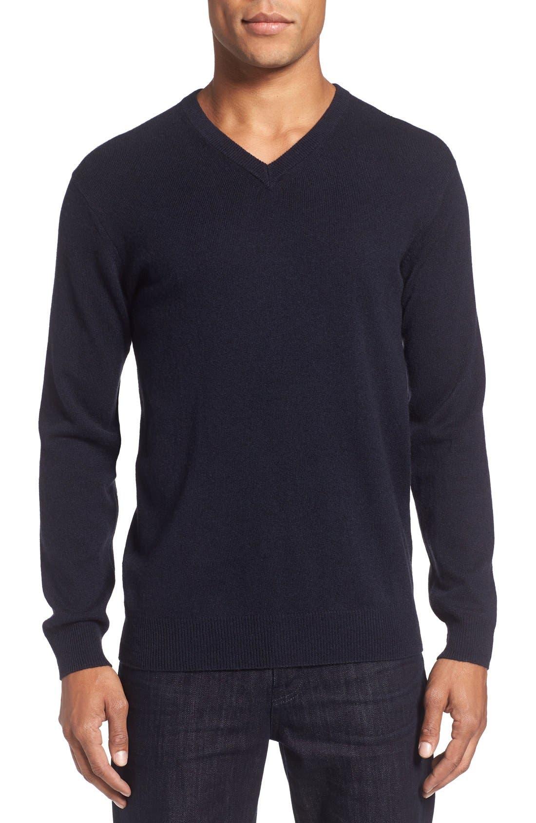 Rodd & Gunn 'Invercargill' Wool & Cashmere V-Neck Sweater