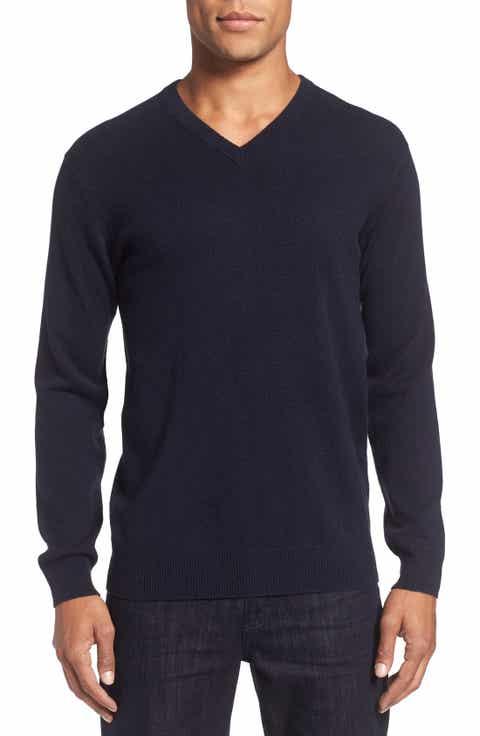 Rodd   Gunn 'Invercargill' Wool   Cashmere V-Neck Sweater