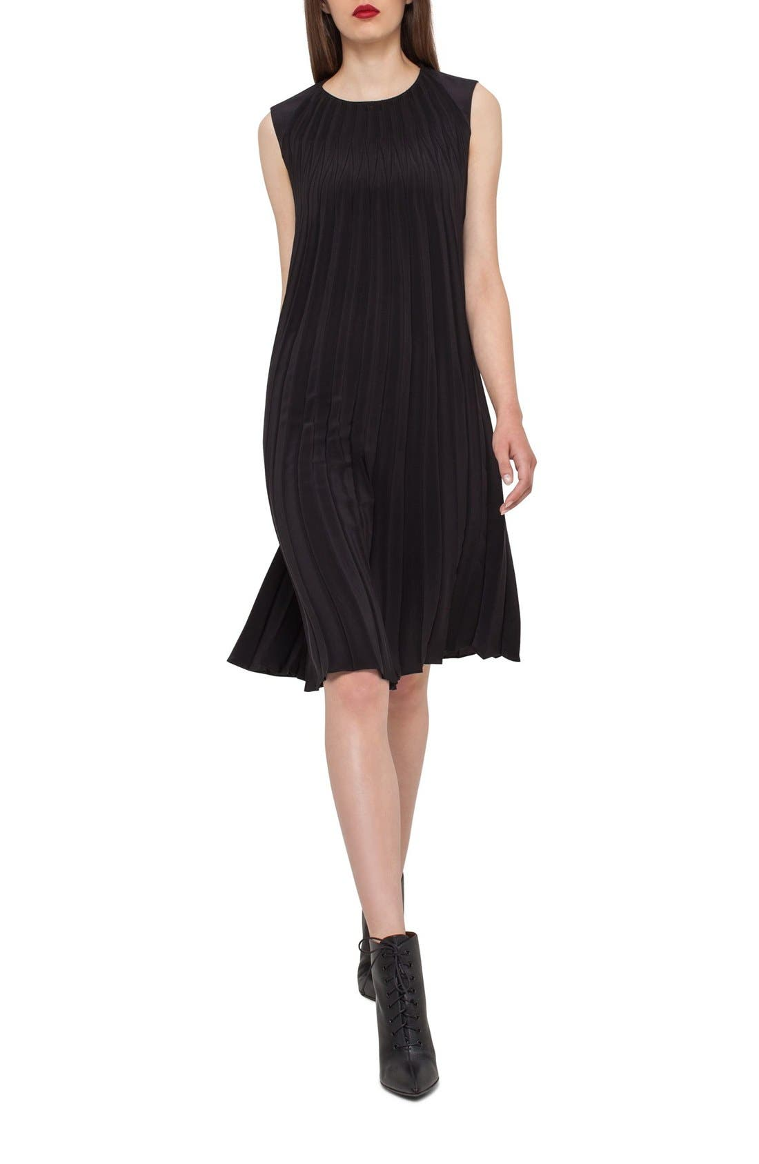 Akris Pliss 233 Crepe Dress Nordstrom