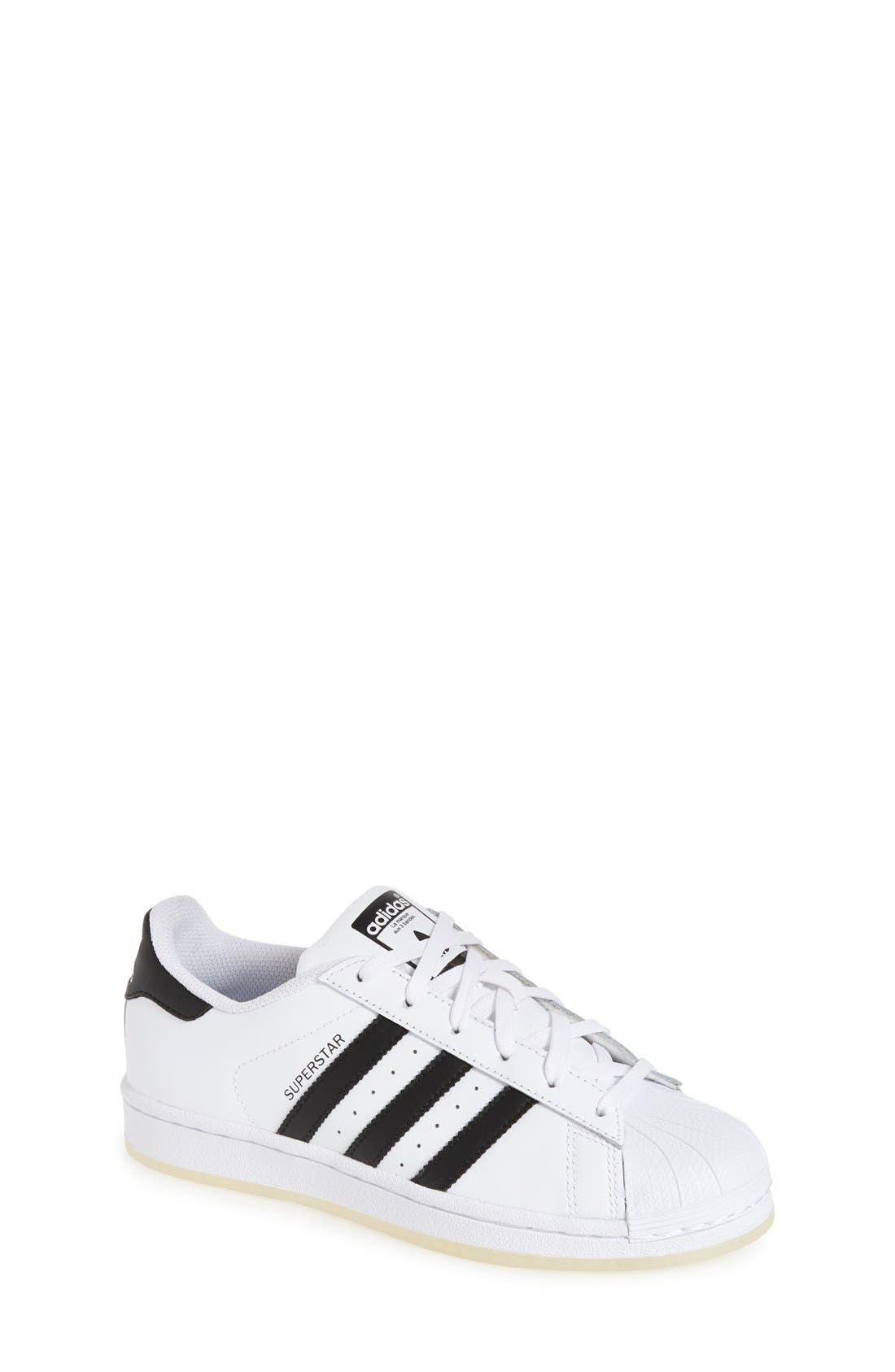 Alternate Image 1 Selected - adidas Superstar Ice Sneaker (Big Kid)