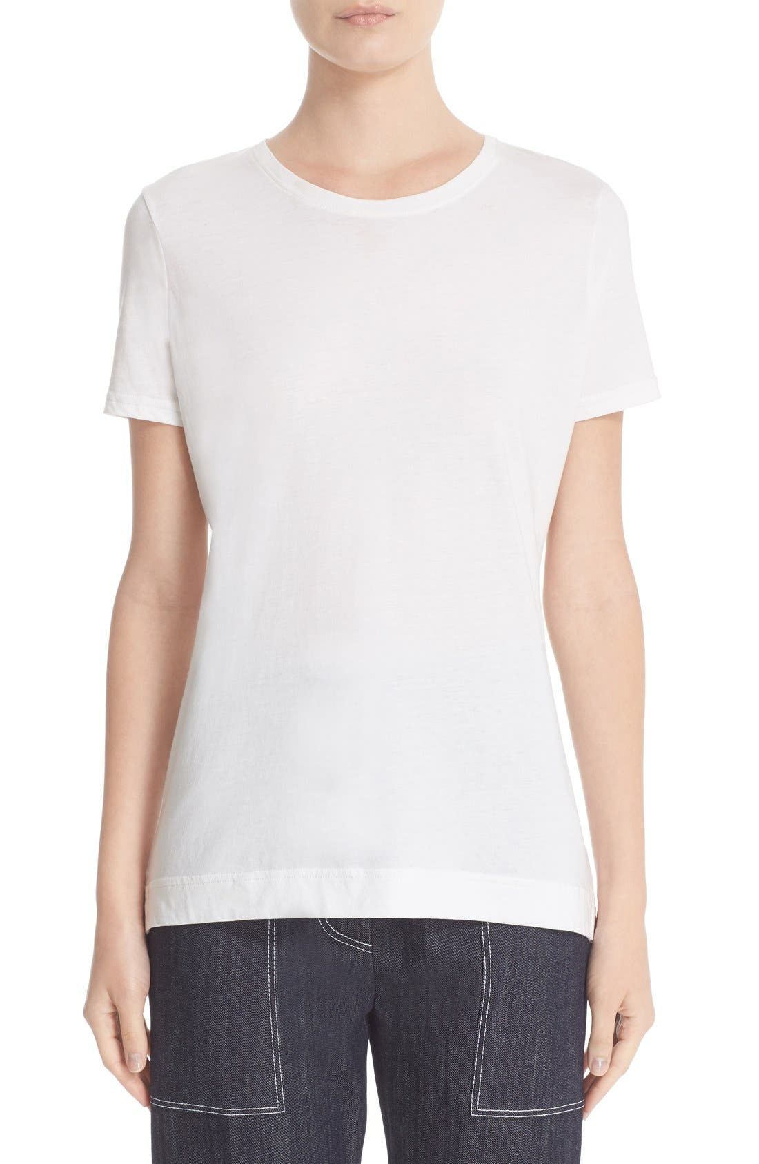 Adam Lippes Cotton Crewneck Tee