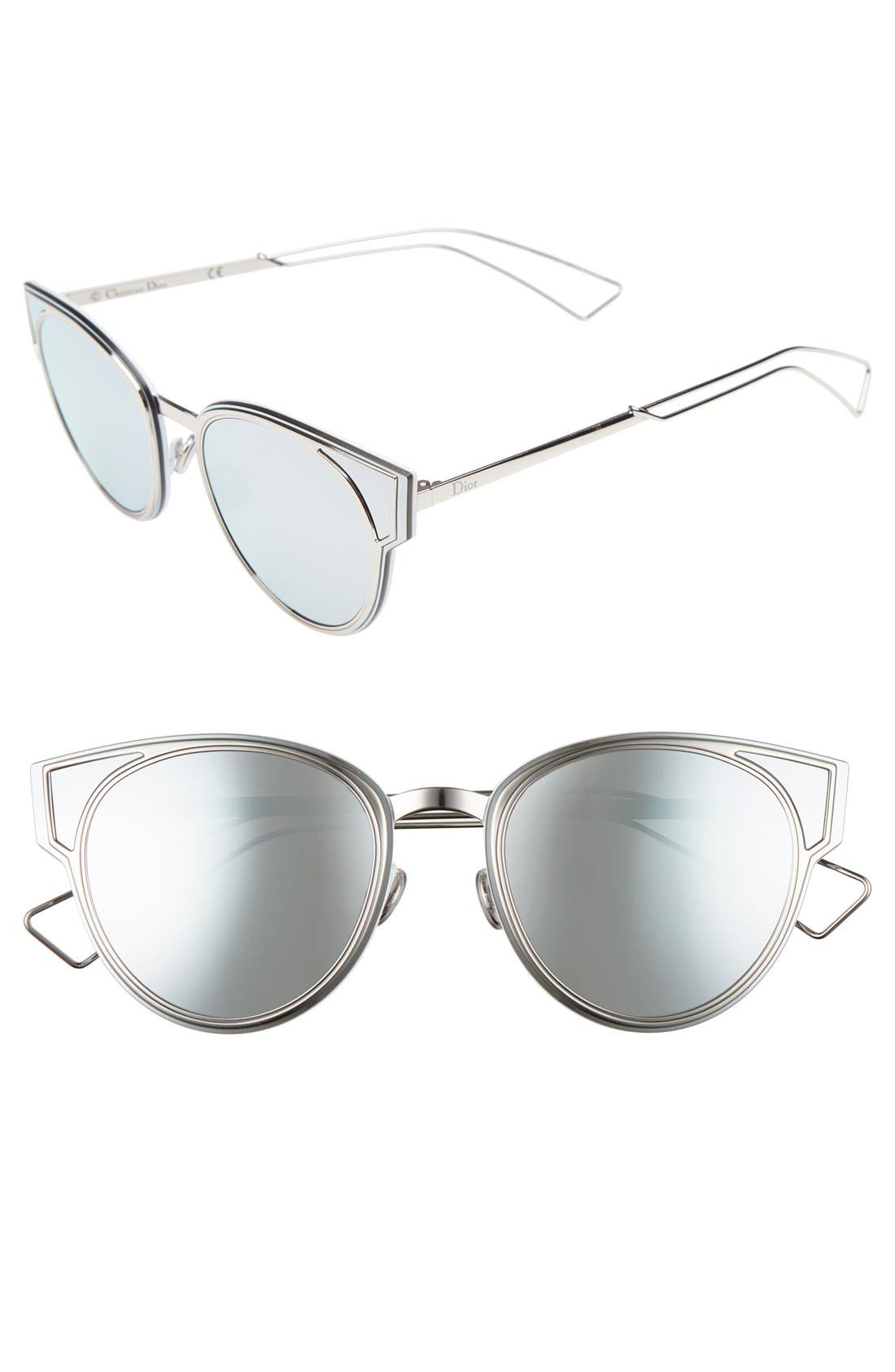 Dior Sculpts 53mm Cat Eye Sunglasses