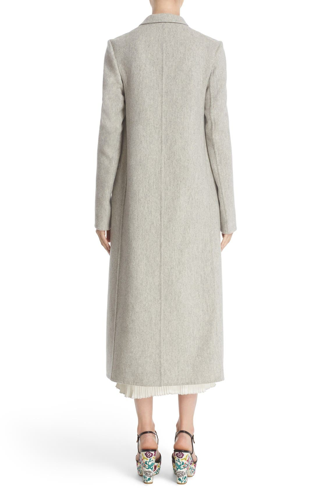 Alternate Image 2  - Adam Lippes Double Face Cashmere & Wool Coat