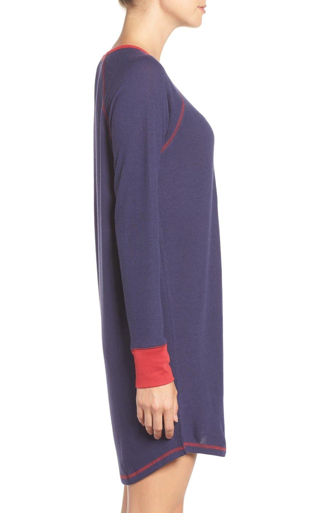 Alternate Image 3  - PJ Salvage Peachy Jersey Nightshirt
