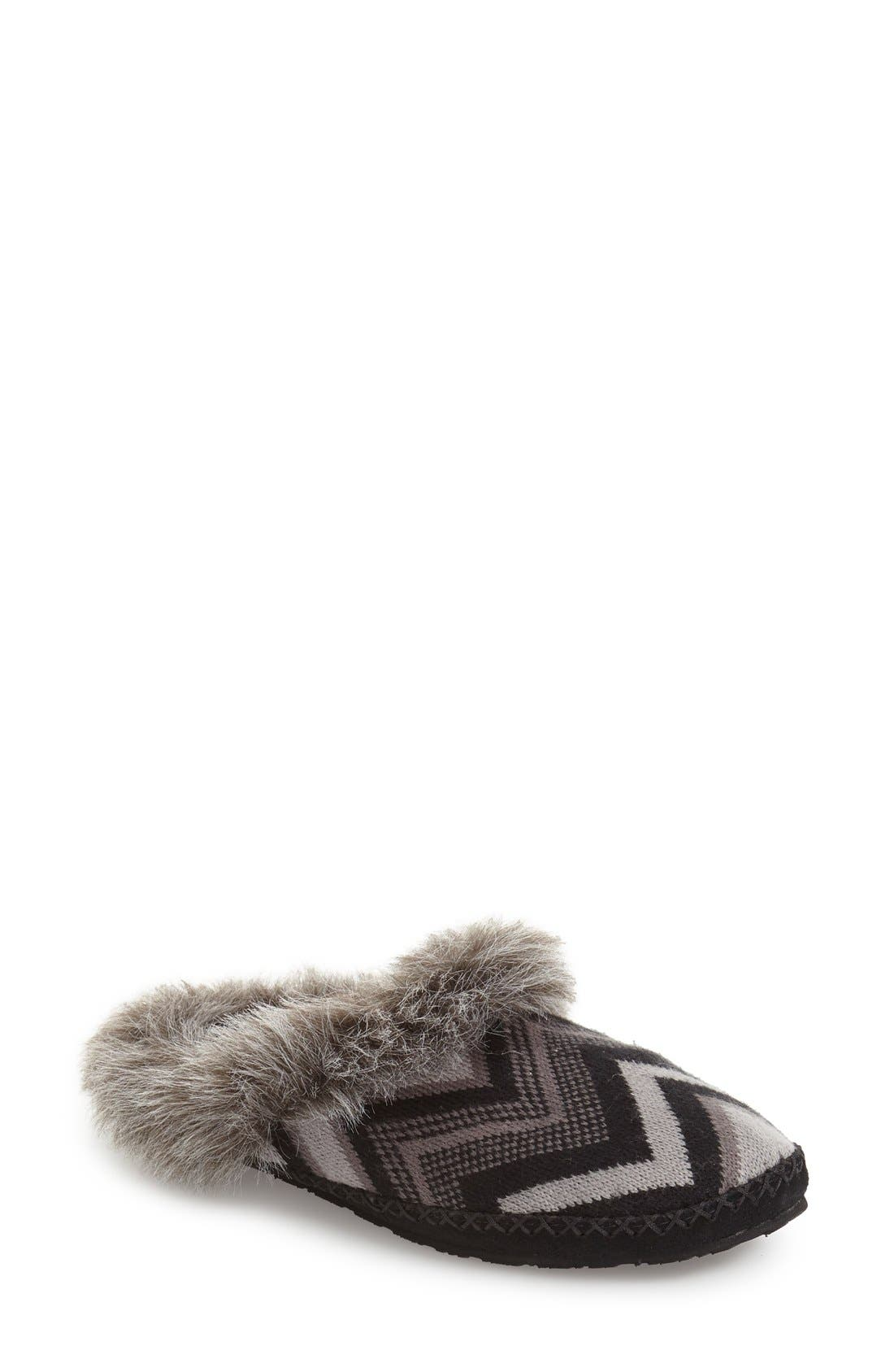 Sanuk Willow Pillow Faux Fur Mule Slipper (Women)