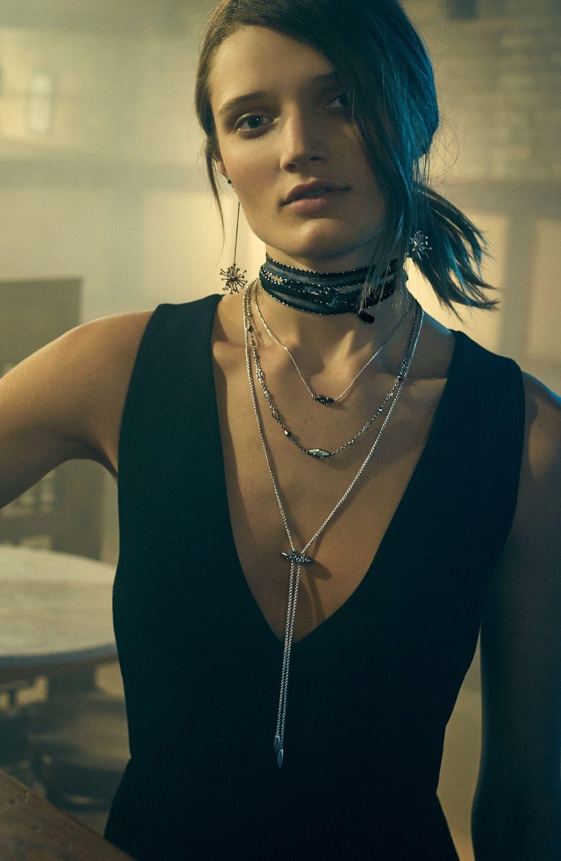 Alternate Image 3  - Kendra Scott 'Bridgete' Drusy Pendant Necklace