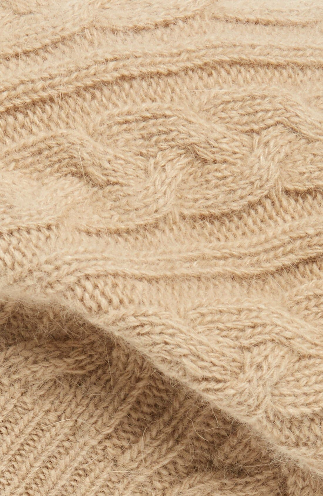 Alternate Image 2  - Sole Society Cable Knit Beret