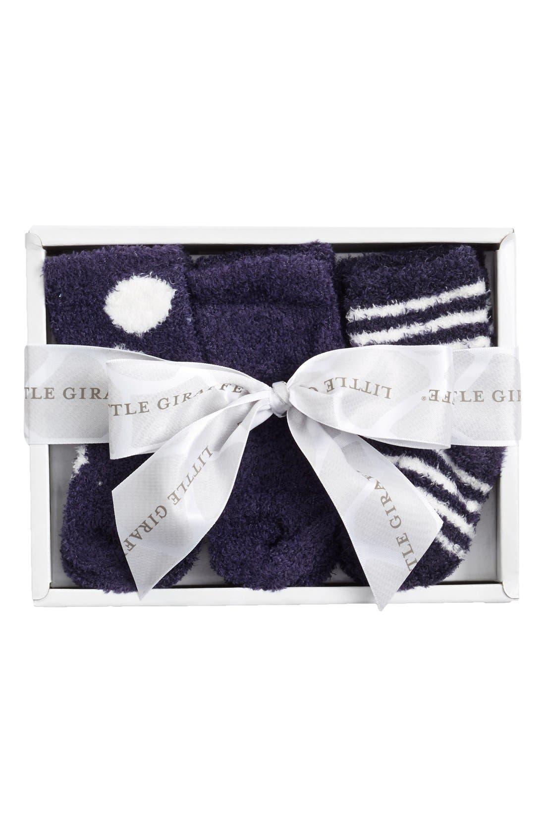 Little Giraffe Box of Socks™ 6-Pack Set (Baby Girls)