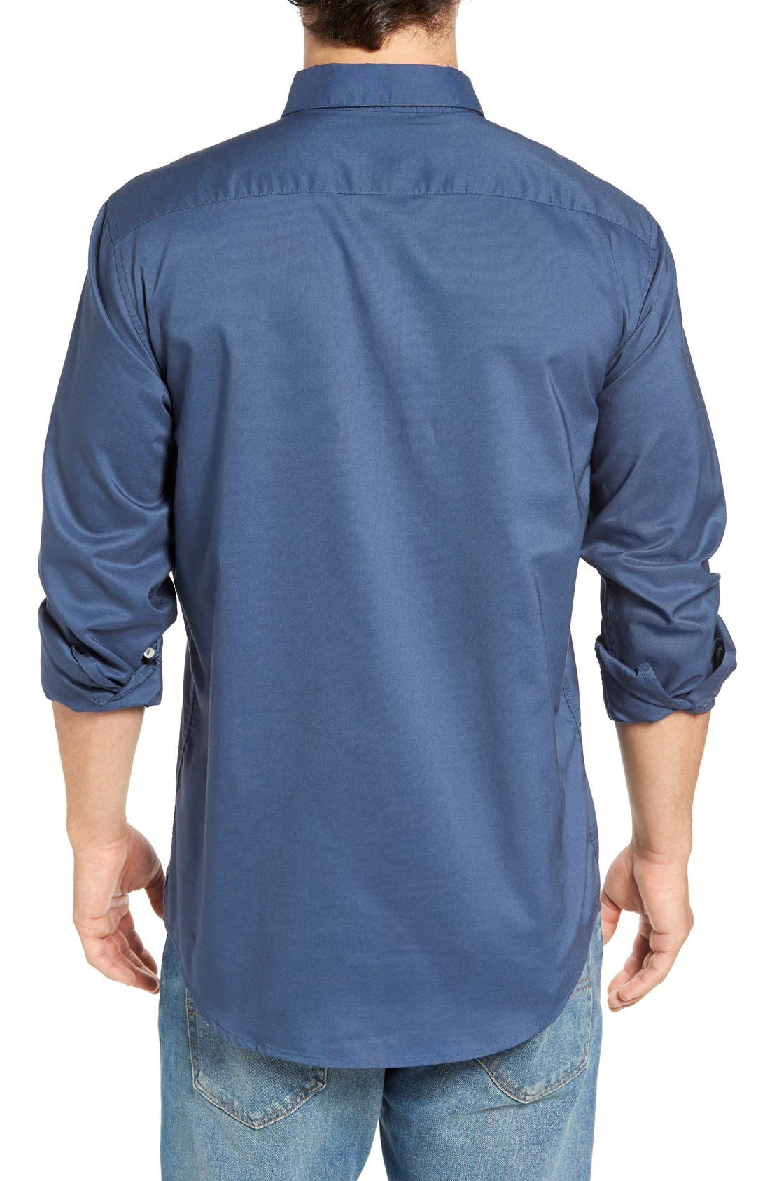 Alternate Image 2  - RVCA 'That'll Do' Slim Fit Oxford Shirt