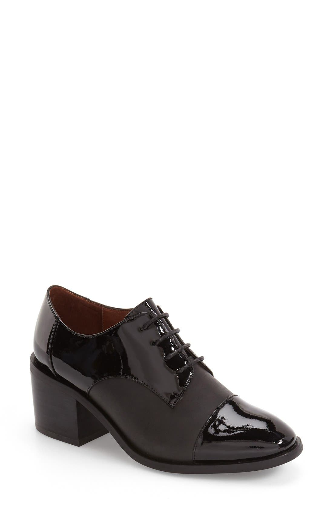 Alternate Image 1 Selected - Jeffrey Campbell 'Egan' Cap Toe Oxford (Women)