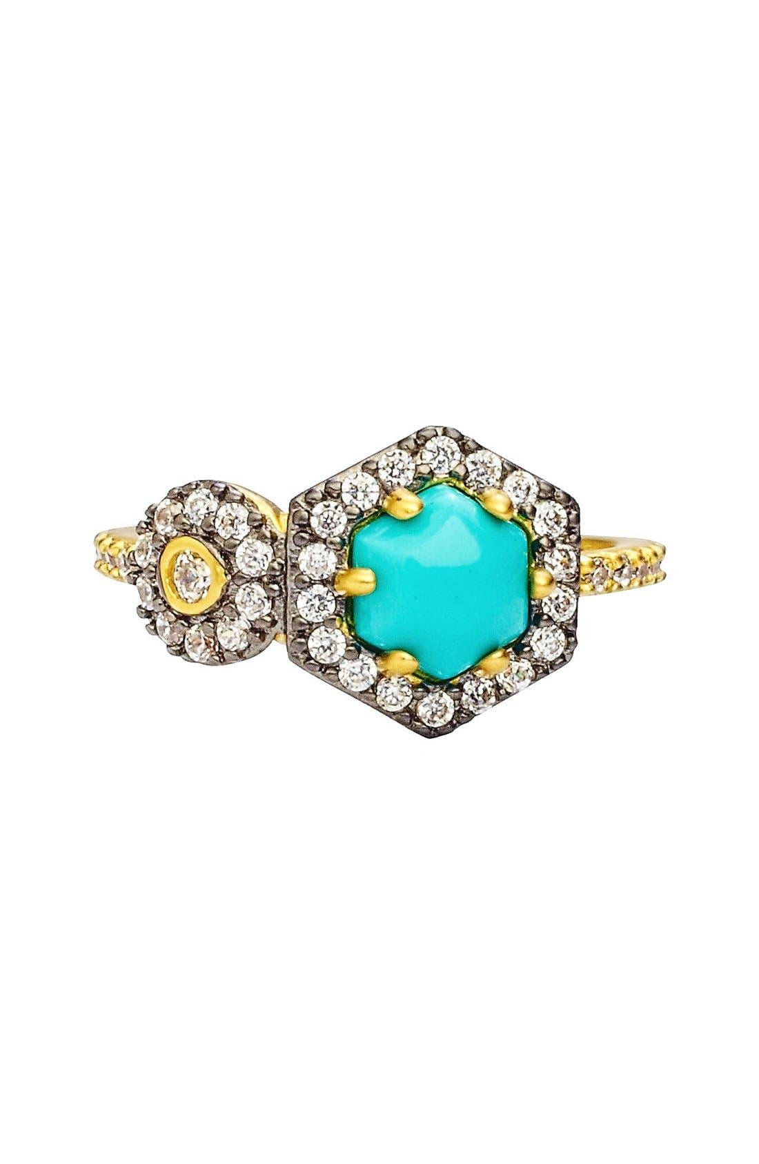 Alternate Image 3  - FREIDA ROTHMAN 'Metropolitan' Stone Two-Tone Ring