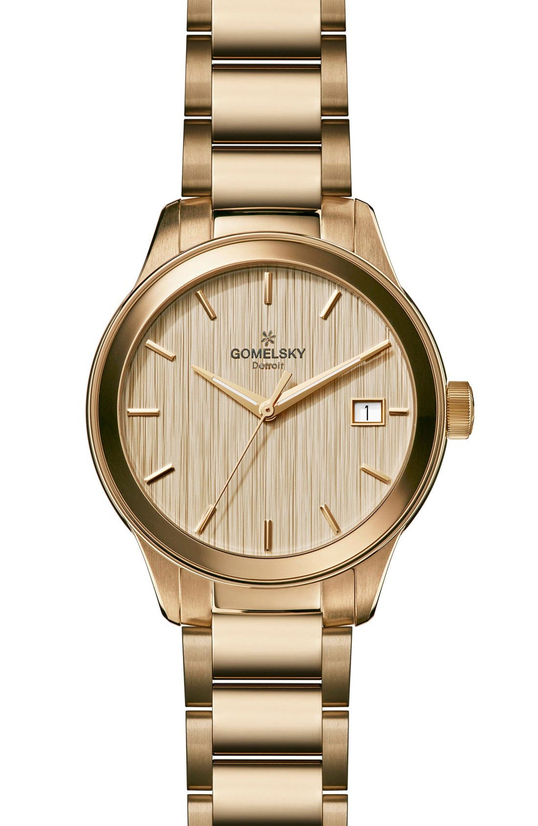 Main Image - Gomelsky The Grace Lightfoot Bracelet Watch, 38mm