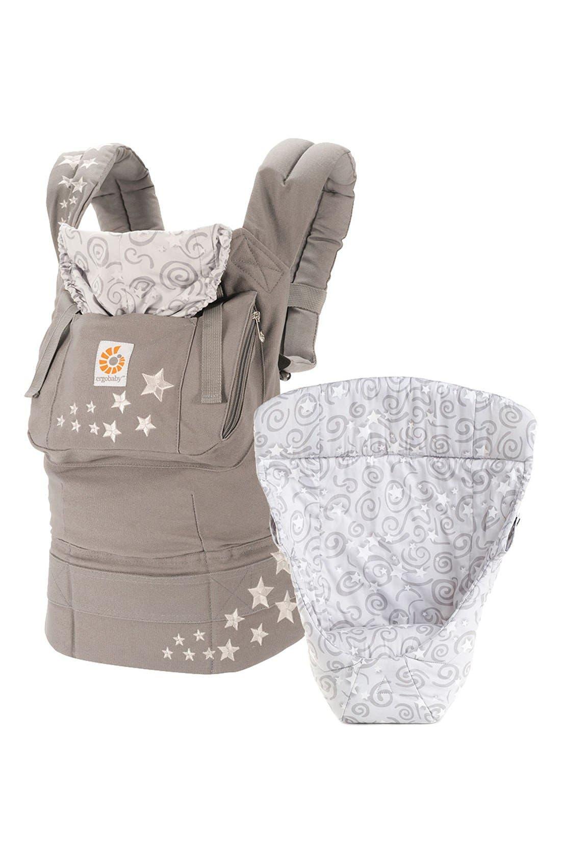 ERGObaby 'Three Position Original - Bundle of Joy' Cotton Baby Carrier & Insert