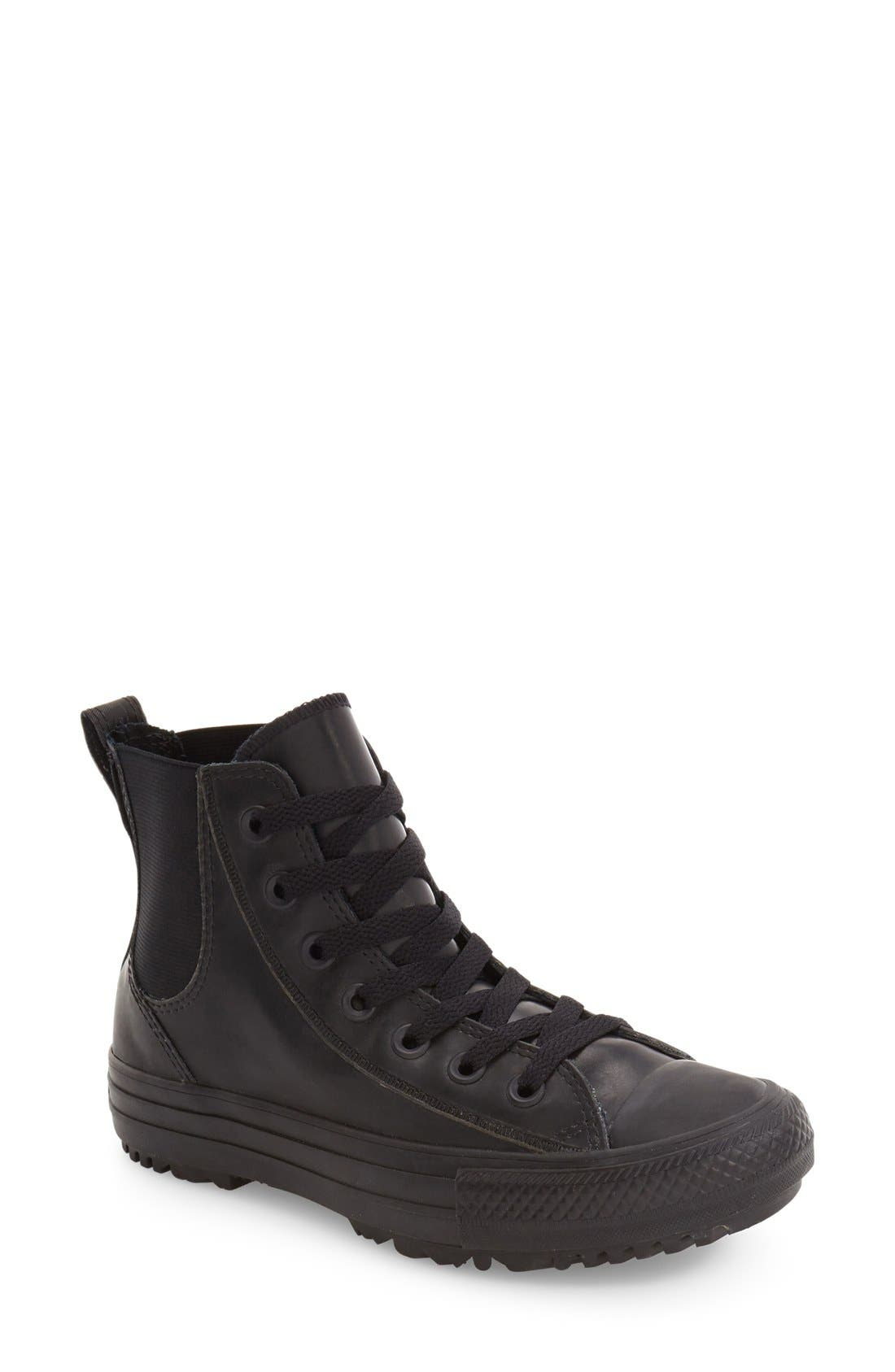 Alternate Image 1 Selected - Converse Chuck Taylor® All Star® Chelsee Translucent Water Repellent High Top Sneaker (Women)