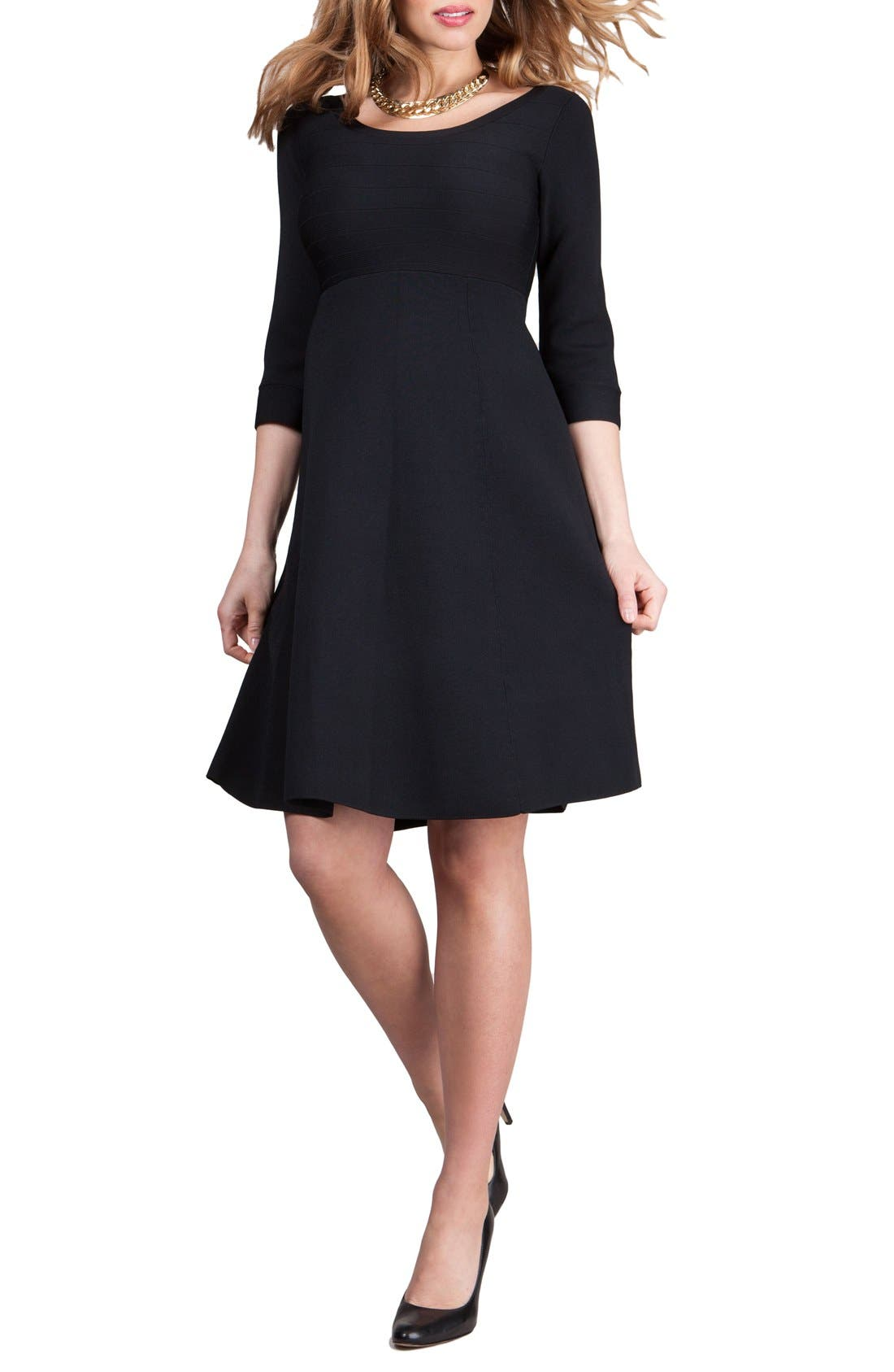 Seraphine Christine Fit & Flare Maternity Dress