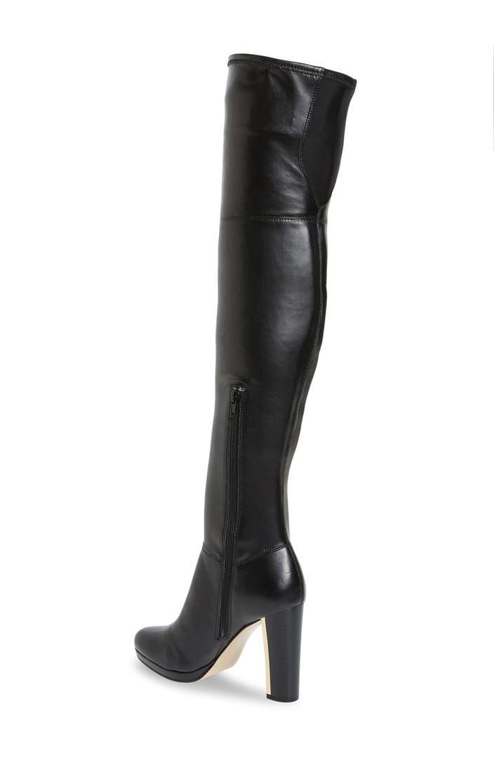 Calvin Klein 'Polomia' Platform Over the Knee Boot (Women) | Nordstrom