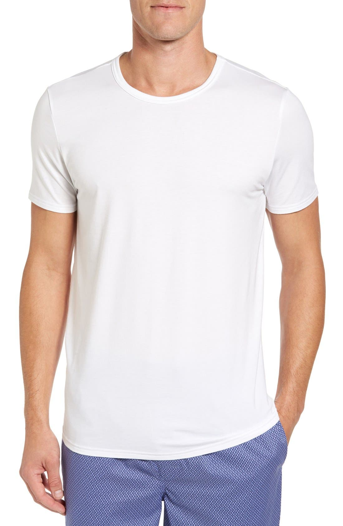 NORDSTROM MEN'S SHOP Micromodal Crewneck T-Shirt