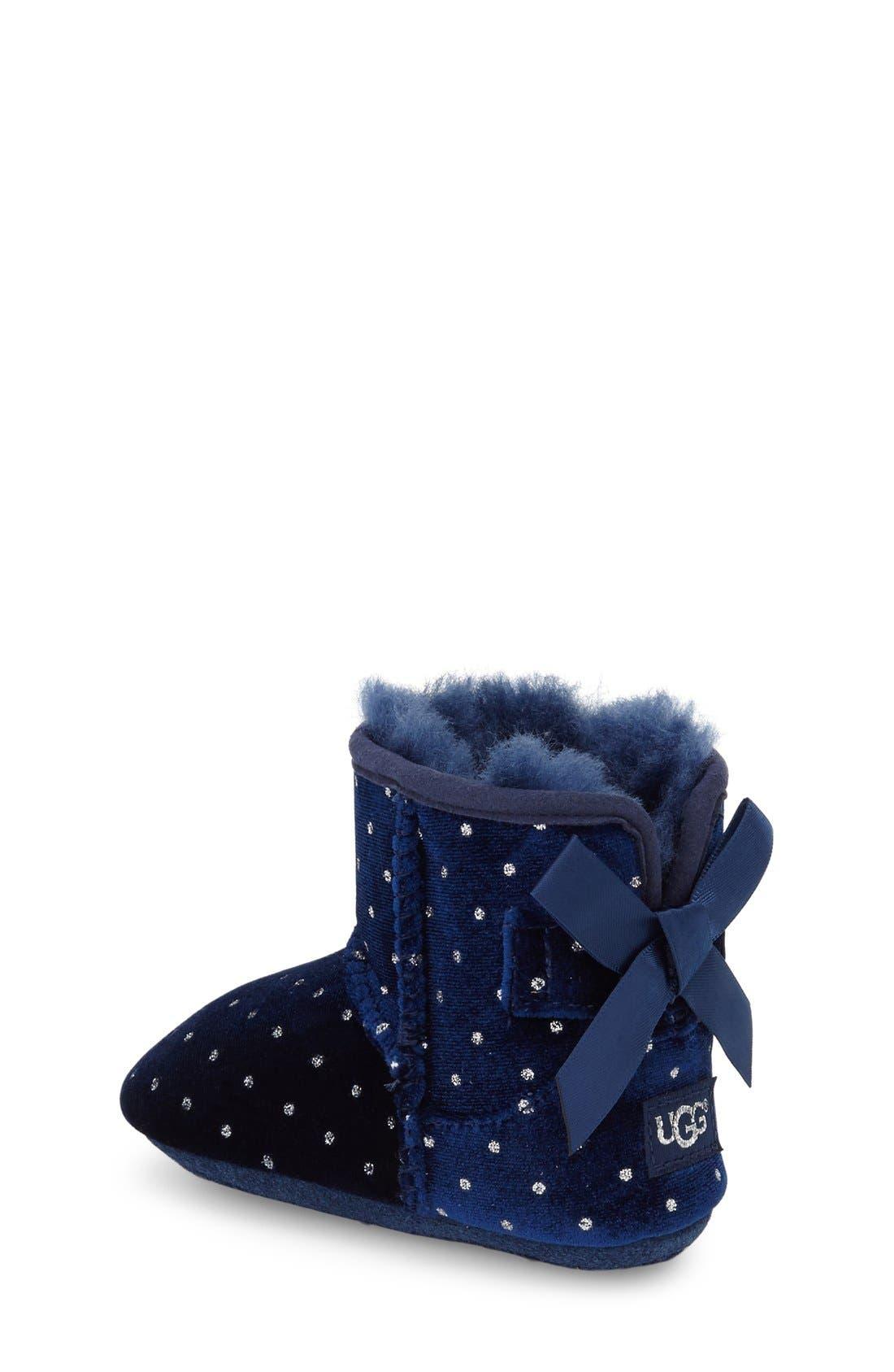 Alternate Image 2  - UGG® Jesse Bow Boot (Baby & Walker)