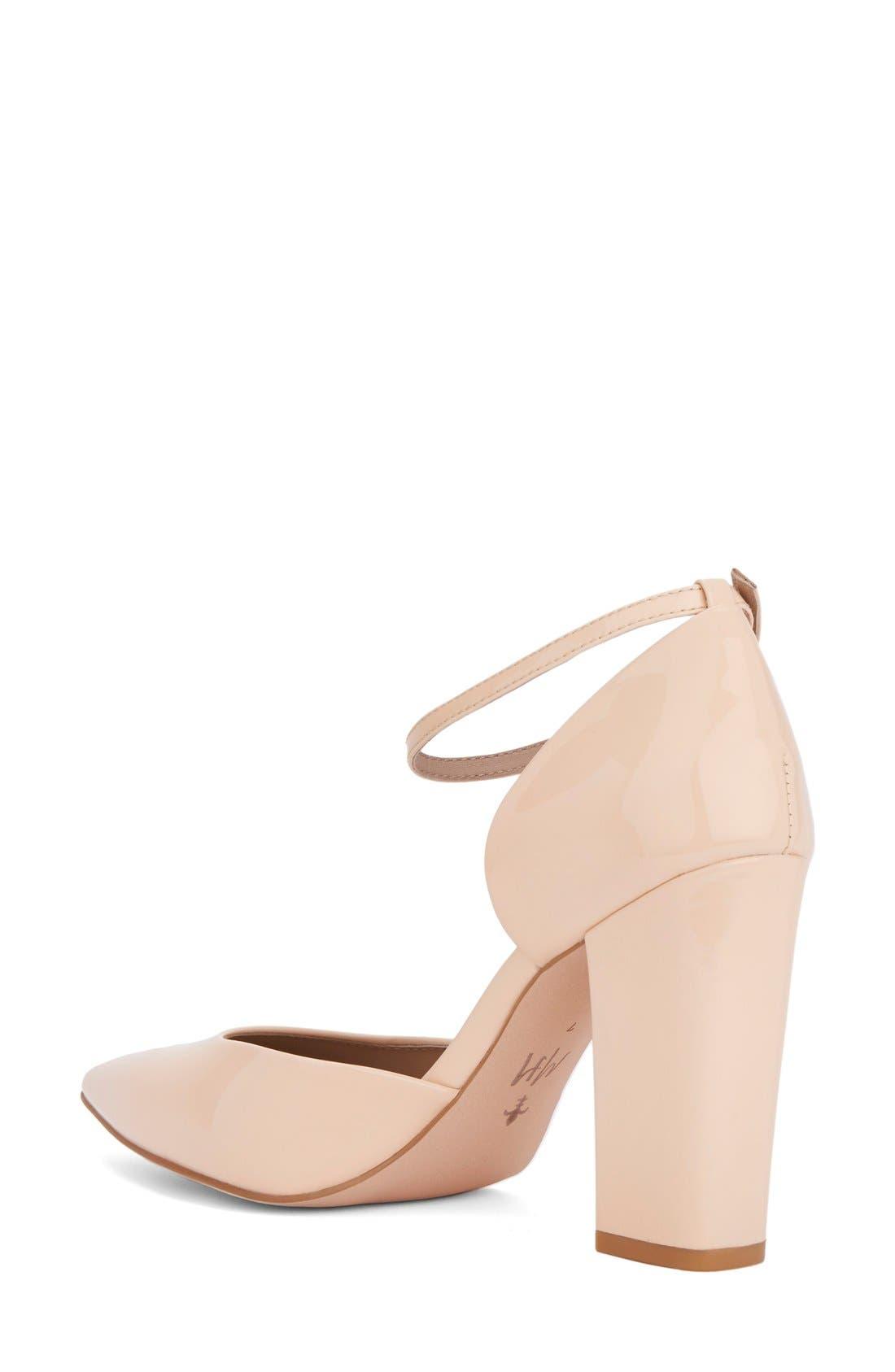 Alternate Image 2  - Shoes of Prey x Megan Hess Fleur-de-lis Collection Pump (Women)
